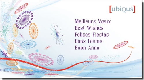 UBIQUS - Meilleurs voeux 2014