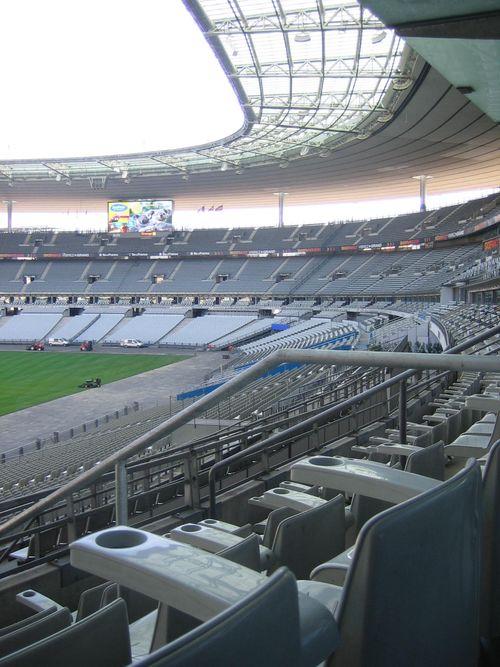 Ubiqus est sur le salon eluc o 2011 le stade de france vu de la loge d 39 - Location loge stade de france ...
