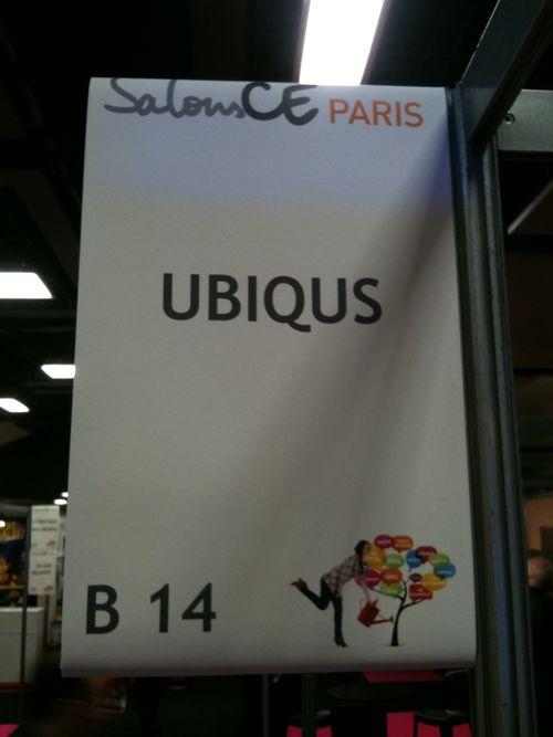 B 14 le stand d'Ubiqus